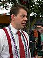 Fremont Solstice Parade 2007 emcee 03.jpg