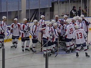 France men's national ice hockey team - The French team at the 2002 Winter Olympics.
