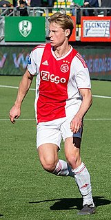 Frenkie de Jong Dutch association football player