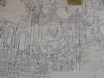 Фреска осады Белграда