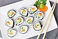Fresh and delicious maki roll from Phengphian Laogumnerd Cuisine.jpg