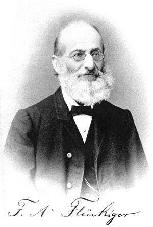 Friedrich August Flückiger - Friedrich August Flückiger (1828-1894)
