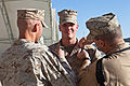 From recruit training to Afghanistan, Marine promotes former recruit 131001-M-CT526-355.jpg