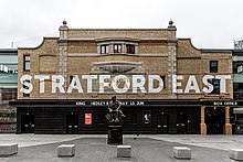 Front of Theatre Royal Stratford East by Richard Davenport.jpg