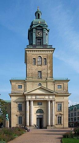 Göteborgs domkyrka från Domkyrkoplanen vid Västra Hamngatan 0619257fbccf9