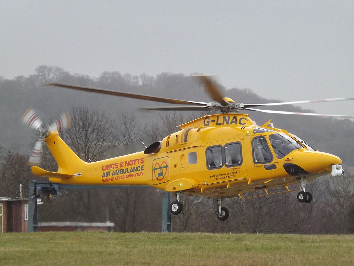 North Park Lincoln >> Lincolnshire & Nottinghamshire Air Ambulance - Wikipedia