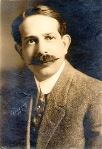 G. Albert Lansburgh - G. Albert Lansburgh portrait circa 1915