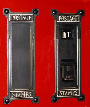 Stamp vending machines in the United Kingdom - Image: GPO2