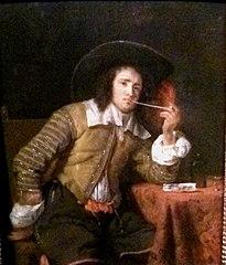 The Cavalier Smoking