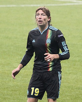 Gabriel Heinze - Heinze in action for Marseille (2010)