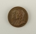 Galerie métallique des grands hommes français (Great Men of France) Medal, 1833 (CH 18154317).jpg