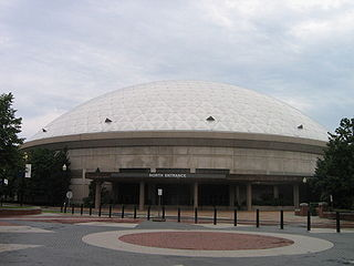 Harry A. Gampel Pavilion Indoor arena at the University of Connecticut