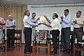 Ganga Singh Rautela Receives Retirement Award From Anil Shrikrishna Manekar - NCSM - Kolkata 2016-02-29 1659.JPG