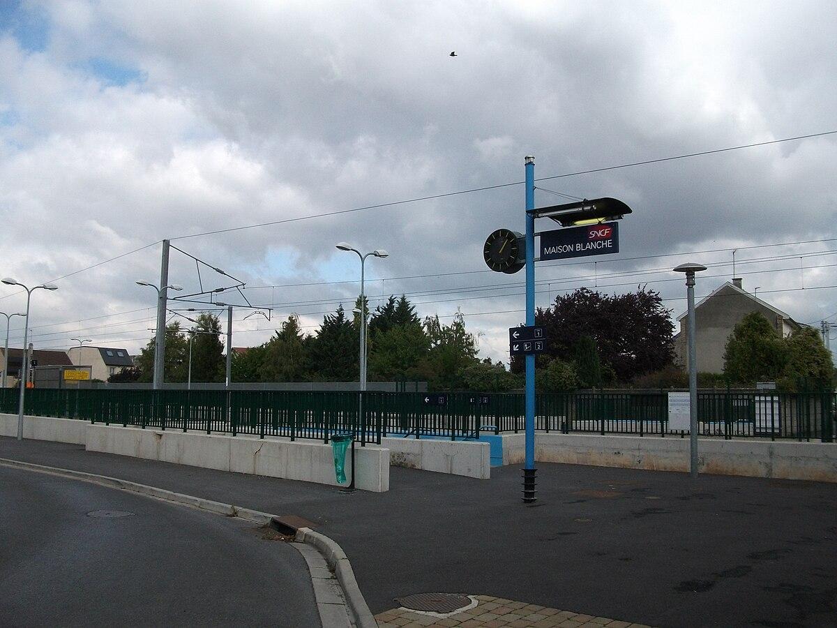 Gare de reims maison blanche wikip dia - Piscine reims thiolettes ...