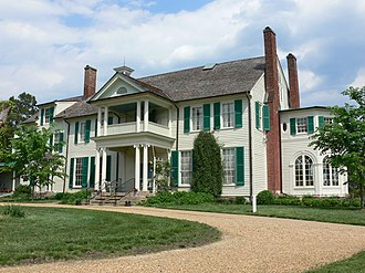 National Register of Historic Places listings in Stafford County, Virginia - Image: Gari Melchers Home