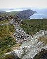 Garn Fawr looking southwest along Pwll Deri to Penbwchdy - geograph.org.uk - 451641.jpg