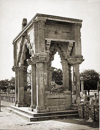 Mihira Bhoja - Image: Gate of Teki Mandir, Gwalior Fort