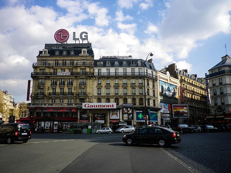 File:Gaumont Parnasse, 3 Rue d'Odessa, 75014 Paris 2014.jpg