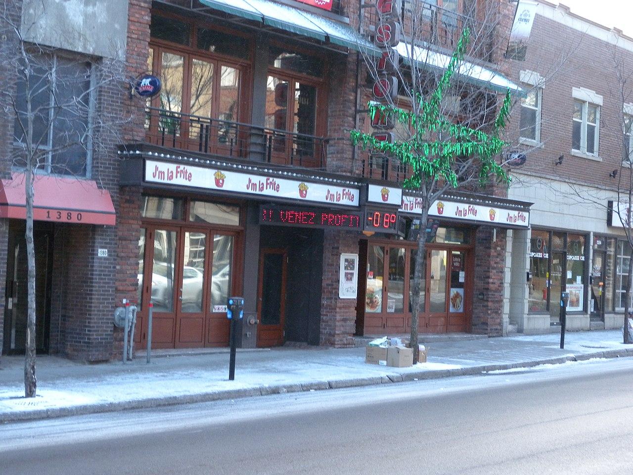 montreal Gay village hotel