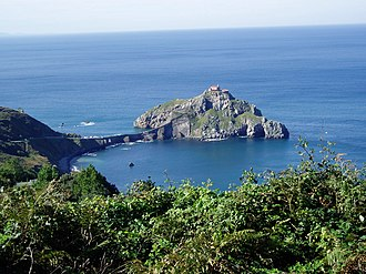Bay of Biscay - The coast of the Bay of Biscay – San Juan de Gaztelugatxe (Biscay)(Basque Country)