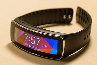Samsung Gear Fit - Image: Gear Fit