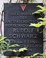 Gedenktafel Varnhagenstr 24 (Prenz) Rudolf Schwarz.jpg