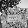 Gedenkteken aan de Kaiserstraße in Bad Mergentheim, hier trokken de Beierse troe, Bestanddeelnr 254-4510.jpg