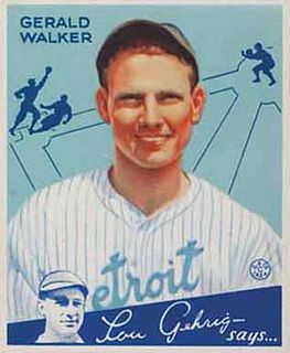 Gee Walker American baseball player and coach