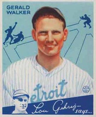 Gee Walker - Image: Gee Walker Goudeycard
