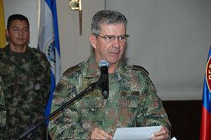 Mario Montoya Uribe - Gen Mario Montoya