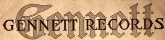 Gennett Records - Image: Gennett Records Logo