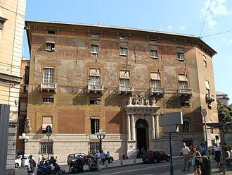 Genoa: Le Strade Nuove and the system of the Palazzi dei Rolli - Image: Genova 12 8 05 006