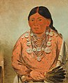 George Catlin - A'h-tee-wát-o-mee, a Woman - 1985.66.244 - Smithsonian American Art Museum.jpg