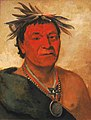 George Catlin - O-ho-páh-sha, Small Whoop, a Distinguished Warrior - 1985.66.229 - Smithsonian American Art Museum.jpg