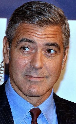 George Clooney filmography - At the Paris premiere of The Ides of March in October 2011