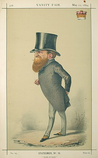 George Robinson, 1st Marquess of Ripon - Robinson caricatured in Vanity Fair, 1869