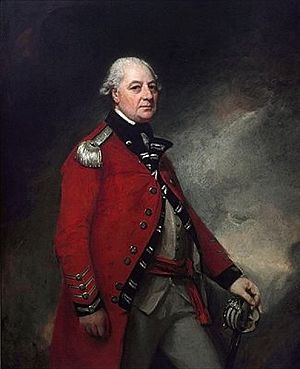Norfolk Militia - George Townshend, 1st Marquess Townshend, first Colonel of the West Norfolk Militia.