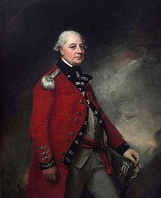 Norfolk Militia - George Townshend, 1st Marquess Townshend, first Colonel of the West Norfolk Militia.