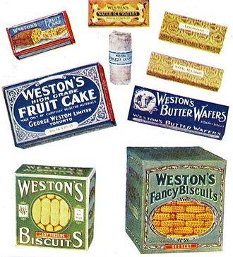 George Weston - Weston products, company catalogue, George Weston Limited, Toronto, 1920.