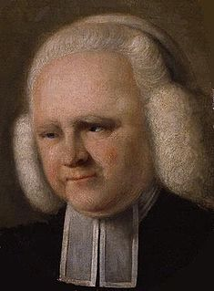 George Whitefield English minister and preacher