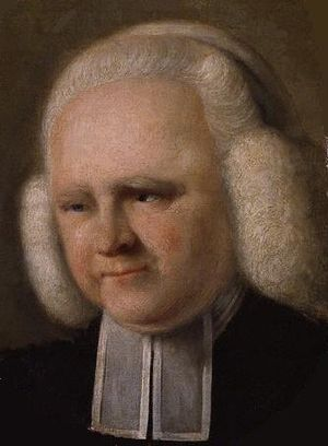 George Whitefield - Portrait by John Russell, 1770