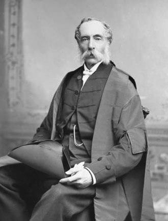 George William Allan - Allan in May 1888