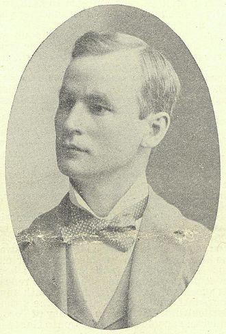 George Weston - Portrait of Weston in 1899