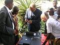 Georges Alula at the electoral bureau in Kabuba (Bandundu).JPG
