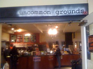 Students of Georgetown, Inc. - Uncommon Groups is a coffee shop in the Leavey Center.