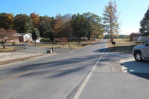 Georgia State Route 201 - SR 201 in Villanow, Georgia