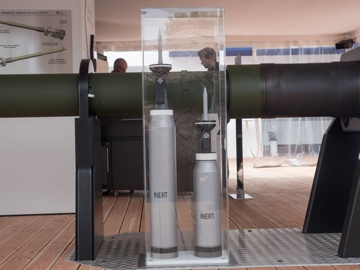 German APFSDS 130mm and 120mm shell