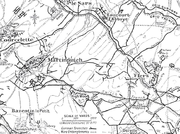 German defensive lines, Martinpuich, Le Sars and Flers area, Somme 1916