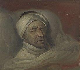 Mr. Willem Bilderdijk na zijn dood