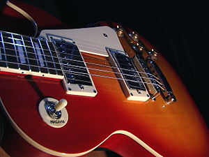 Guitar manufacturing - Image: Gibson Les Paul 03
